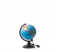 Глобус политический d210мм с подсветкой