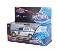 Машина металлическая Lada Калина полиция11496W RUS