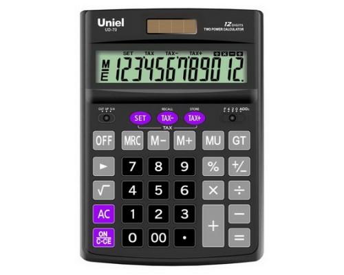 Калькулятор UD-70 UNIEL 12 разрядов