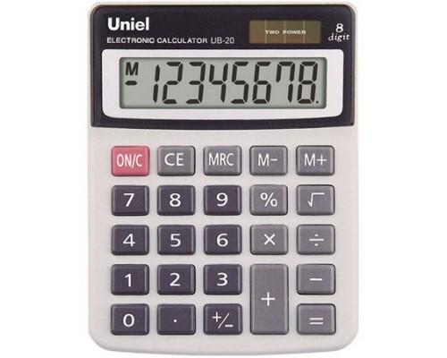 Калькулятор UB-20 UNIEL 8 разрядов