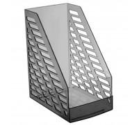 Лоток для бумаг вертикальный STAMM XXL тонированный серый