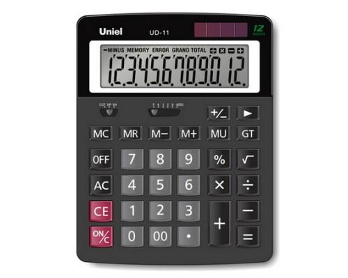Калькулятор UD-11 UNIEL 12 разрядов