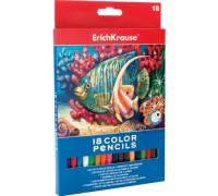 Карандаши цветные 18 цветов ErichKrause