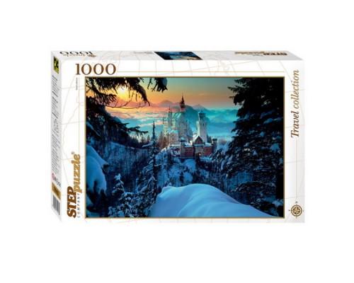 ПАЗЛ 1000 элементов Step Бавария Замок 79103