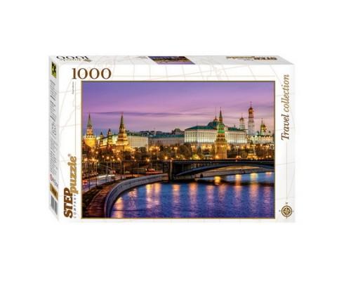 ПАЗЛ 1000 элементов Step Москва. Набережная 79106