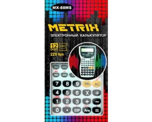Калькулятор METRIX MX-88MS Научный 229 функций 12 разрядов