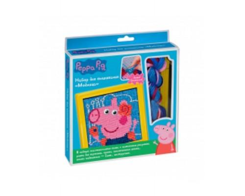 Набор для вышивания Модница, Peppa Pig