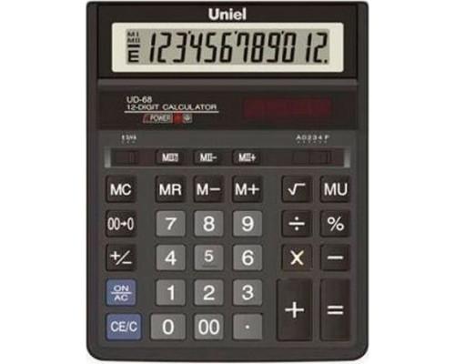 Калькулятор UD-68 UNIEL 12 разрядов