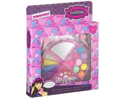 Набор детской декоративной косметики Bondibon Eva Moda 2 заколки , косметичка-долька 20238H2