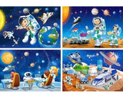 ПАЗЛ 54 детали Castor Космос 08521-КО