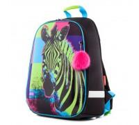 Рюкзак ERGONOMIC light-Зебра для девочки, начальная школа