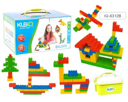 Конструктор пластиковый BLOCK, 650 деталей.