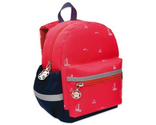 Рюкзак детский РОЗОВЫЕ КОРАБЛИКИ для девочки