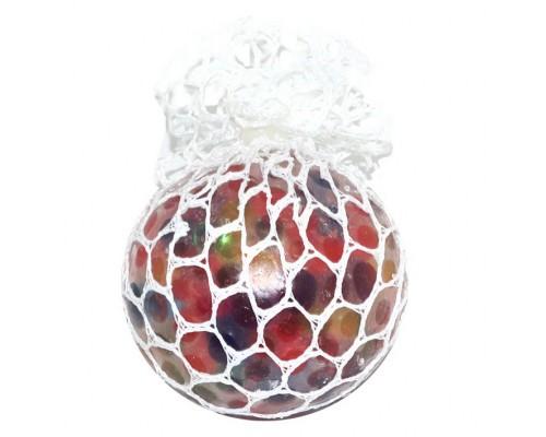 Антистресс Сетка-шар, с наполнением гидрогель, d-6см