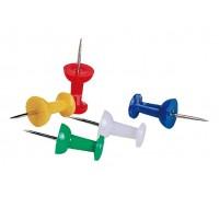 Кнопки-гвоздики Deli 25мм. 35 штук
