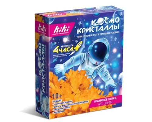 """Набор для творчества KiKi """"Космо кристаллы"""" Оранжевое солнце"""
