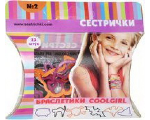 Детские браслетики CoolGirl