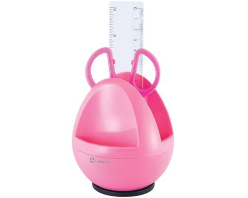 Набор настольный Compact / Компакт, розовый, Lamark