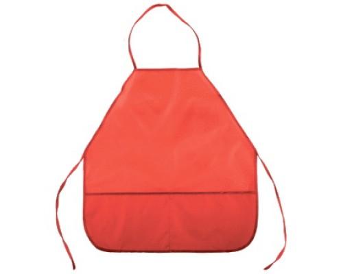 Фартук deVENTE 39x49 см (S), однотонный красный