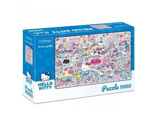 ПАЗЛ 1000 элементов Hello Kitty- ( Hello Kitty)