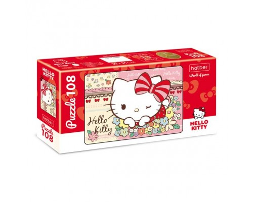 ПАЗЛ 108 элементов Hello Kitty- ( Hello Kitty)