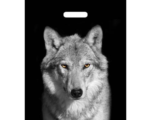 Пакет вырубной 45*38 см.Волк