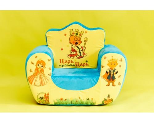 Кресло мягкое трон m3613