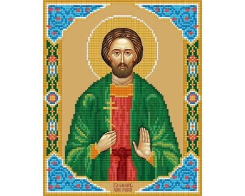 """Алмазная мозаика """"Икона святого великомученика Иоанна Нового"""