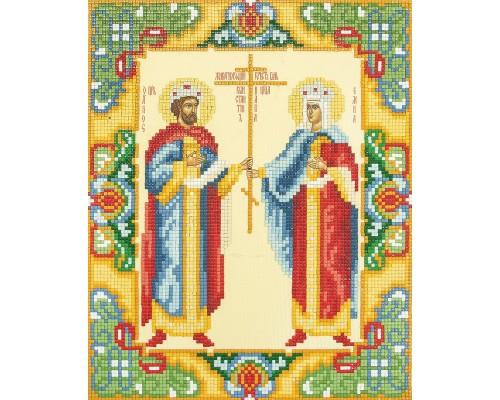 """Алмазная мозаика """"Икона Святых Равноапостольных царя Конс"""