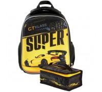Рюкзак Hatber ERGONOMIC MINI Supercar для мальчика начальная школа