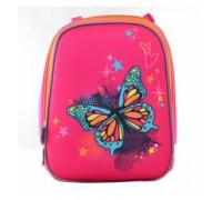Рюкзак Butterfly blue, 38*29*15см для девочки начальная школа