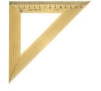 Треугольник деревянный 16см, 45°